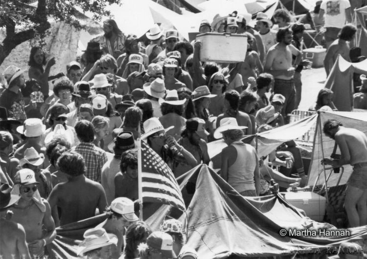 The Crowd, 1980 Willie Nelson 4th of July Picnic, photo by Martha Hannah-1. 72 dpi