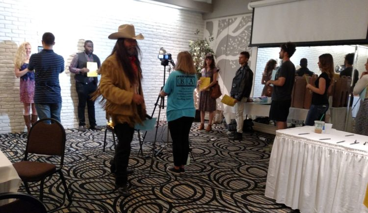 The Son Open Casting Call, Sally Allen behind Camera, May 2016 (3)